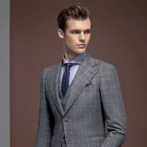体型偏胖的男士怎么选择适合的西装